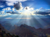 Sunbeams Over the Canyon