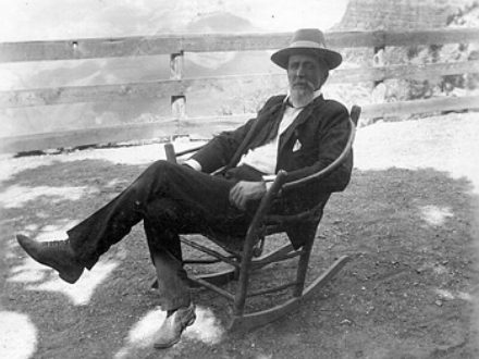 John Hance on Rocking Chair at Bright Angel Lodge